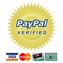 PayPal Verified Payments logo.