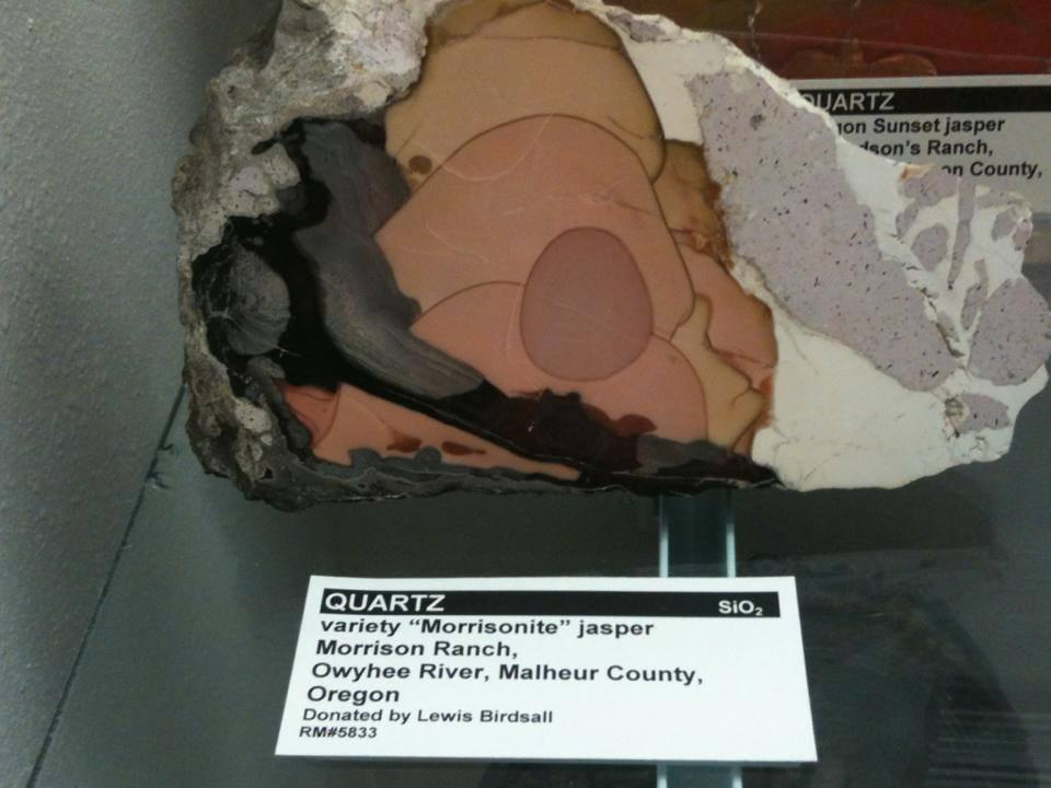 Quartz Morrisonite Jasper - photography by Gloria Staebler - Lithographie