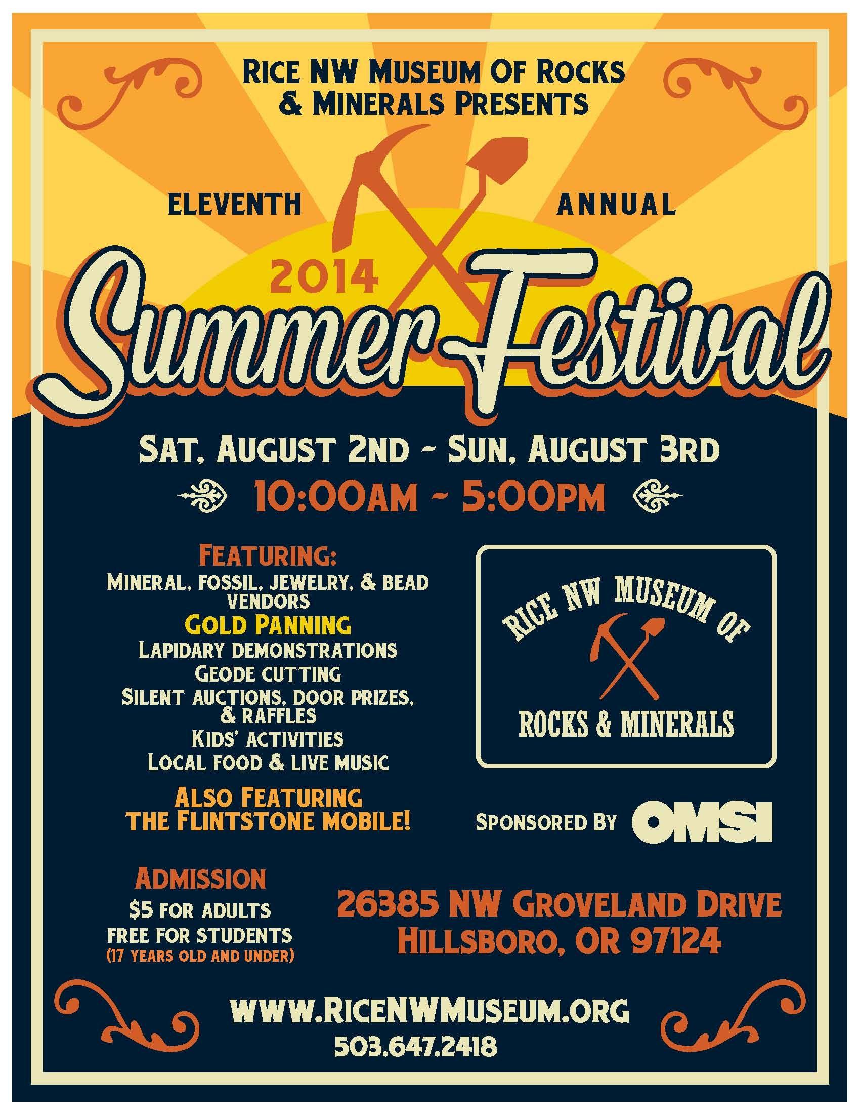 2014 Summer Festival August 2-3