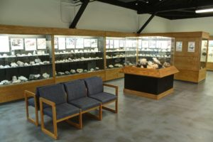 View of the Northwest Gallery of the Rice NW Museum