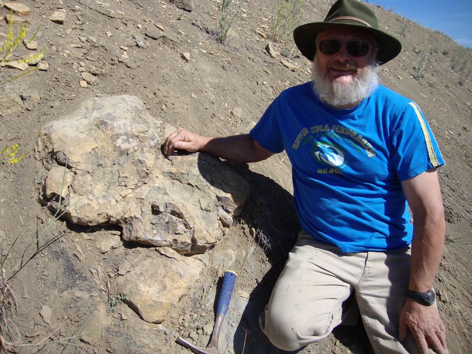Greg Carr - discoverer of Bernie the Thalattosaur