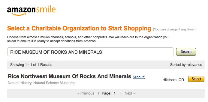 Amazon Charity Selection