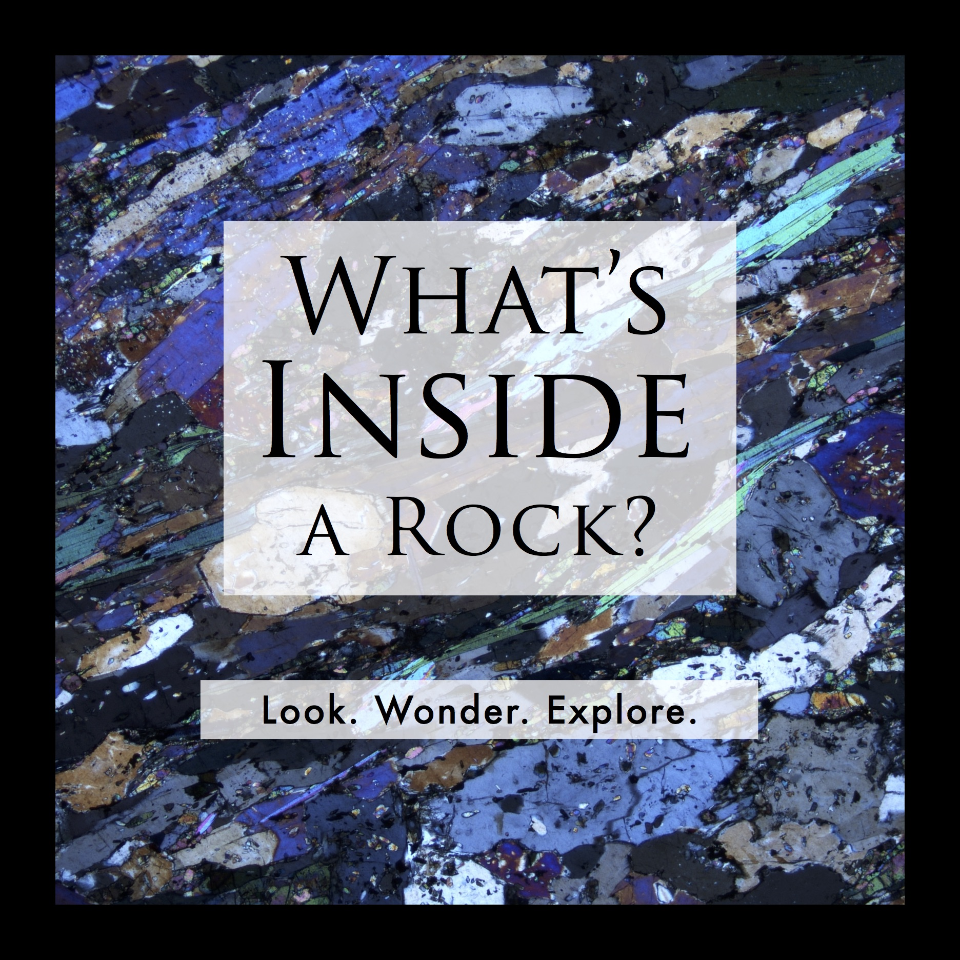 What's inside a rock?
