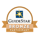 GuideStar logo with Bronze Participant ribbon